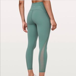 """Lululemon Train Times Pant 25"""" (Frosted Pine)"""